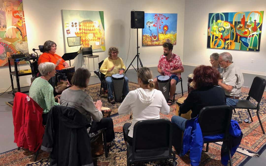 Drop-in Drum Circle Spring 2019