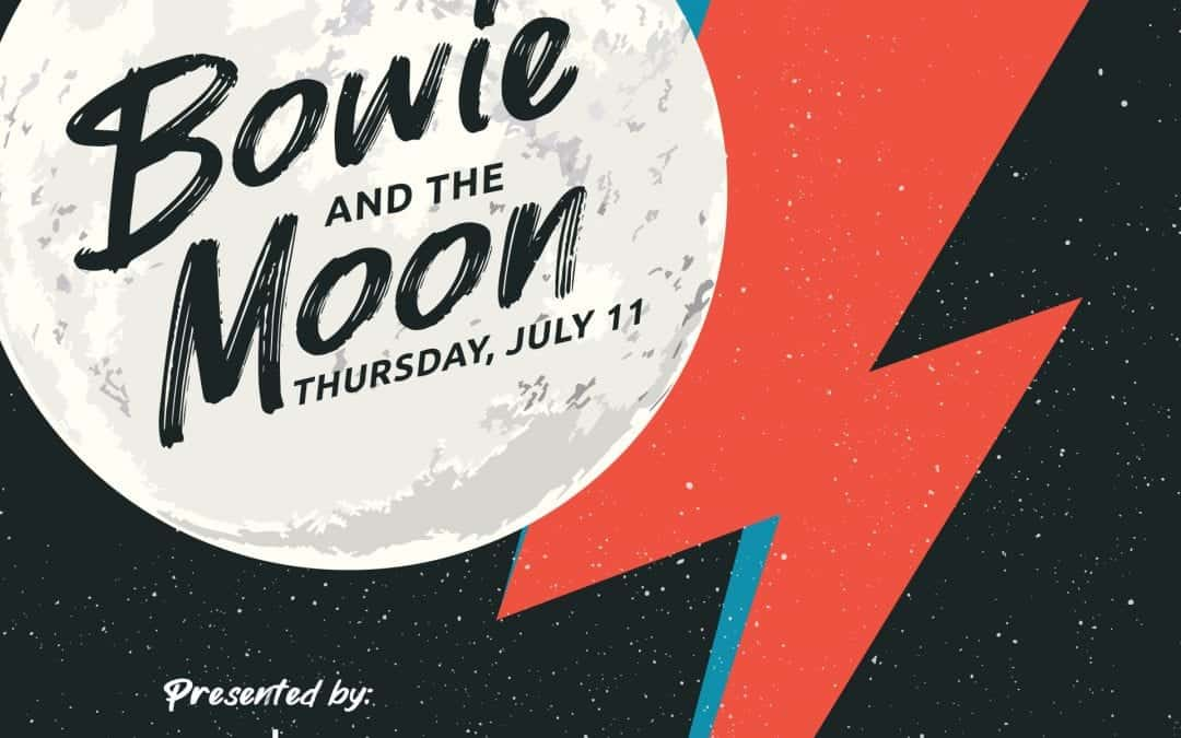 Bowie and the Moon