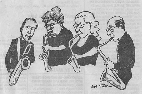 The Whatever Four – Saxophone Quartet Recital