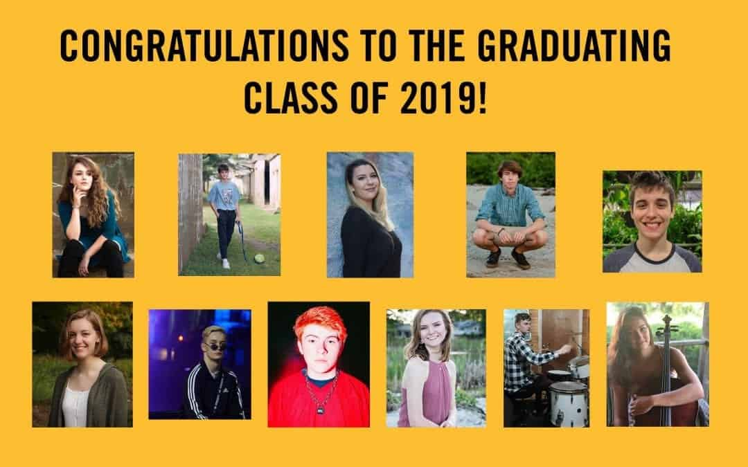 Congratulations to PMAC's 2019 Graduating Seniors!